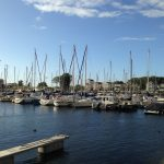Marina Cape Helius, de jachthaven zelf.