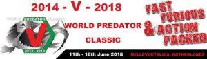 World Predator Classic 2018 in Hellevoetsluis