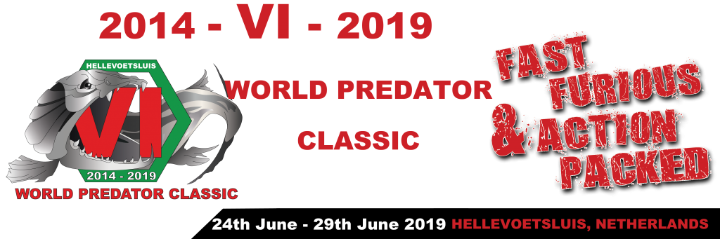 World Predator Classic 2019 in Hellevoetsluis